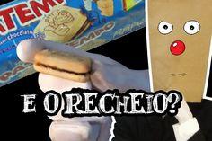 Biscoito Recheado Passatempo da Nestlé @CanalDoOtario