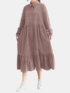 Stylish Dresses For Girls, Cute Dresses, Casual Dresses, Muslim Fashion, Modest Fashion, Fashion Outfits, Modest Outfits, Classy Outfits, Moda Minimal