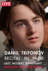 Daniil Trifonov plays Liszt, Mozart, Stravinsky and Trifonov | Medici
