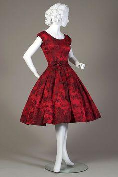Cocktail dress, 1959