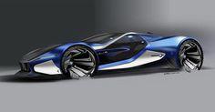 BMW i10 sketch by @farzinnimaa #cardesign #car #design #carsketch #sketch #drawing #bmw #bmwi #bmwi10