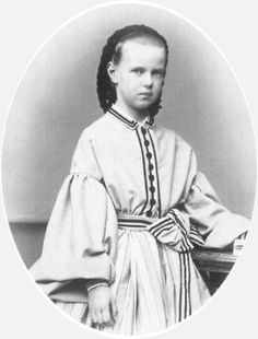 Marie as a child.