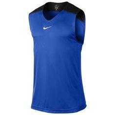 Nike Hyper Elite Sleeveless Top - Men's - White/Black/Desert Orange Evolution T Shirt, Men's Activewear, Sharp Dressed Man, Sport Fashion, Men Dress, Active Wear, Athletic Tank Tops, Nike, Trends