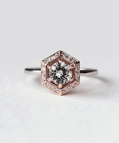 1 carat diamond engagement rings for women Gold Vintage rings (J, – Sterling & Boss - 100 The most beautiful engagement rings youll want to own – unique hexagon engagement ring - Most Beautiful Engagement Rings, Classic Engagement Rings, Engagement Ring Settings, Engagement Ring Vintage, Hexagon Engagement Ring, Diamond Engagement Rings, Coloured Engagement Rings, Different Engagement Rings, Engagement Jewellery