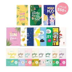 Baby Tea, Glow Mask, Hydrating Mask, Sheet Mask, Key Ingredient, Combination Skin, Korean Skincare, Tea Tree, Facial