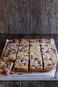 Rhubarb and berry custard bars to celebrate my birthday and my second cookbook