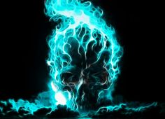 blue fire blue flame Blue skull higher resolution Abstract Fantasy HD Art blue flames blue fire its so cool blue flame flamin skull Scary Wallpaper, Skull Wallpaper, Portal Wallpaper, Batman Wallpaper, Wallpaper Ideas, Ghost Rider, World Of Warcraft, Dark Fantasy Art, Dark Art