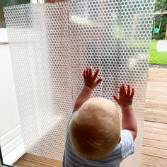 """Lisa Lou and her crew on Instagram: """"Harry loves to bang and stand at the patio doors. Today I stuck some bubble wrap up on them and he went straight to it, running his hands…"""" Patio Doors, Bubble Wrap, His Hands, Bangs, Lisa, Bubbles, Running, Instagram, Fringes"""
