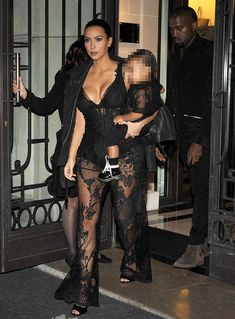 "Kim Kardashian Wears the Givenchy ""Matilda"" Sandals with 2 Racy Outfits"