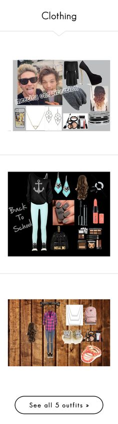 """""""Clothing"""" by jensencaitlin0322 on Polyvore featuring Designers Remix, Giuseppe Zanotti, GUESS, Banana Republic, Stephen Webster, Laura Geller, Glamorous, Converse, Alexis Bittar and Moschino"""