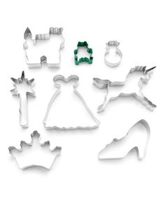 Look at this #zulilyfind! Princess Eight-Piece Cookie Cutter Set, $7 !!  #zulilyfinds