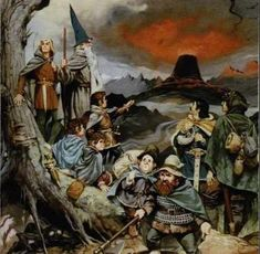 The Tolkien Inspired Art of Joe Gilronan - Google Search