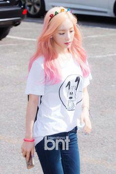 Taeyeon #hairgoals