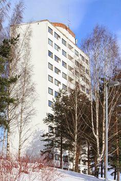 Viitatorni High-Rise Apartment Bldg., Jyväskylä (1960-61) | Alvar Aalto