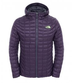 The North Face Men's Thermoball Hooded Jacket Dark Eggplant Purple