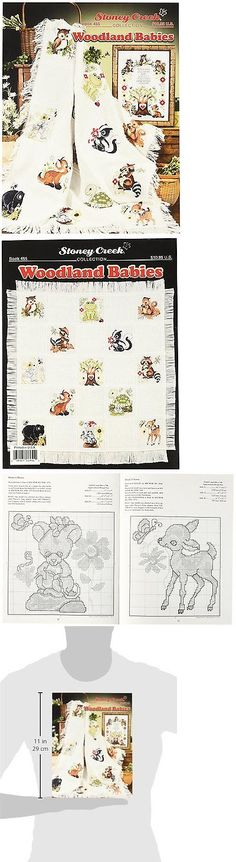 Cross Stitch Patterns 34032: Stoney Creek Woodland Babies Book Beautiful Baby Afghan Thirteen Animal Designs -> BUY IT NOW ONLY: $37.67 on eBay!