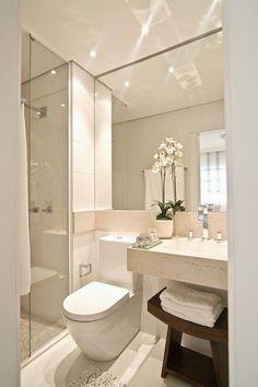 50 baños pequeños | Decoración                                                                                                                                                                                 Más #bañospequeños