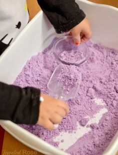 Lavender Cloud Dough