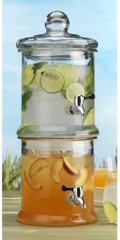 Dual Glass Drink Dispenser