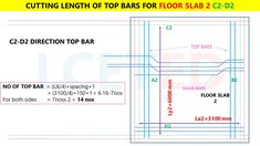 In this article you can know how to calculate steel quantity for slab manually. which you can apply in excel Civil Engineering Handbook, Civil Engineering Books, Civil Engineering Design, Civil Engineering Construction, House Wall Design, Duplex House Design, Rebar Detailing, Split Level House Plans, Framing Construction