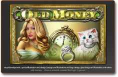 Shannon Maer - Casino Video Slot Game Development - Theme Artwork - Balance GFX - Gallery - old_money_igt_2.png