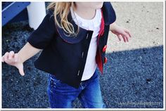 Molly Jacket pdf pattern for purchase