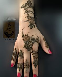 Sevane, - why not visit our site for more inspirational tattoo ideas? Khafif Mehndi Design, Back Hand Mehndi Designs, Mehndi Designs Book, Stylish Mehndi Designs, Mehndi Designs 2018, Mehndi Design Pictures, Mehndi Designs For Girls, Wedding Mehndi Designs, Beautiful Mehndi Design
