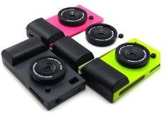 icam iphone 4 case simulation camera case cover for iPhone 4 Black Pc Cases, Cute Cases, Funny Iphone Cases, Iphone 4s, Camera Case, Camera Phone, Retro Camera, Ipad Accessories, Ipad Case