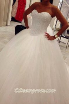 #ballgown wedding dress