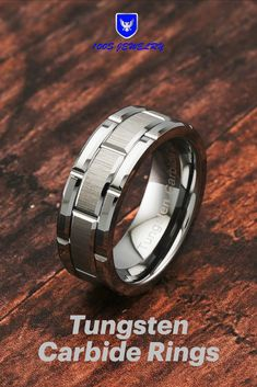 Titanium Sterling Silver Braided Inlay 8mm Brushed and Antiqued Band Size 6 Length Width 8