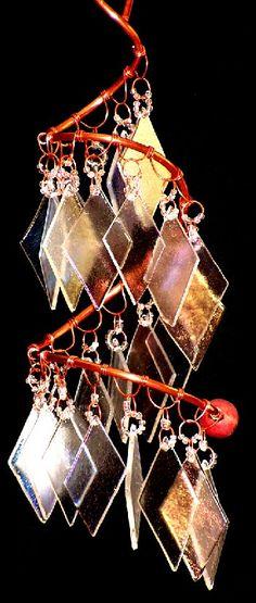 Diamonds wind chimes