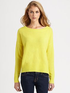 360 Sweater - Jonee Cashmere Sweater - Saks.com