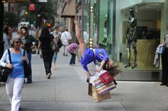 """for E.B. ....yea, I could see you shopping like this.... haha! """"Dancer's Among Us"""" photos by Jordan Matter"""