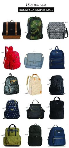 The best backpack diaper bags   Hellobee