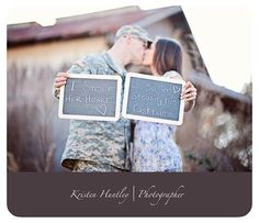 Military Weddings - Military Weddings… Website with all military photos. Karla Pruitt Wiese, you might want to check - Army Wedding, Military Weddings, Wedding Pictures, Dream Wedding, Wedding Stuff, Wedding Ideas, Country Engagement, Wedding Engagement, Engagement Photos