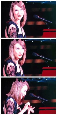 GIF. Crowd chanting Taylor`s name during All Too Well in Manila.