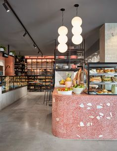52 ideas for meat shop interior inspiration Mim Design, Design Retro, Vintage Design, Cafe Design, Meat Restaurant, Restaurant Design, Modern Restaurant, Restaurant Counter, Commercial Design