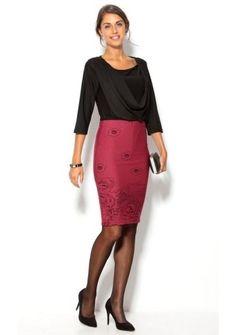Puzdrová sukňa s rozparkom #ModinoSK