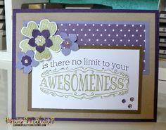 Stampin' Up Big News - CCC07 Color Challenge Katina Martinez - www.lovinglifeslittleblessings.com