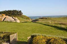 in Cléder: 3 Schlafzimmer, für bis zu 8 Personen. Geräumige Villa mit Blick aufs Meer mit direktem Zugang zum Strand | FeWo-direkt