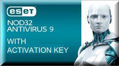 ESET NOD 32 ANTIVIRUS 9 WITH ACTIVATION KEY