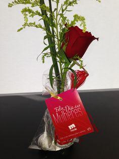 Uma rosa para as nossas Movilianas!