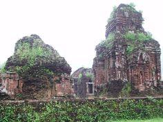 Ancient ruins in Vietnam