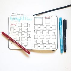 Client Planner Layouts | Ultimate Bullet Journal Gallery | Jihi Elephant