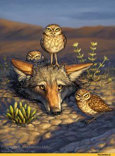 Лиса,лис, лисы, лиска,живность,птички,застрял,digital art,digital…