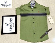 Cod Online, Allen Solly, Shirt Sleeves, Full Sleeves, Kids Shirts, Shirt Style, Casual Shirts, Shirt Designs, Logo Design