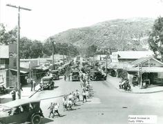 Forest Avenue in the early 1930s.