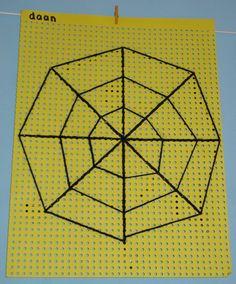 spinnenweb borduren