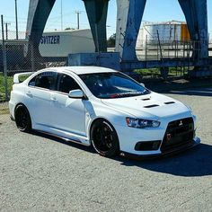 #Mitsubishi_EvoX #Modified #Slammed #Stance