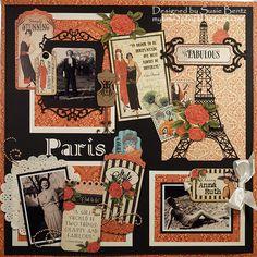 Paris Style **Want2Scrap** - Graphic 45 - Couture Collection